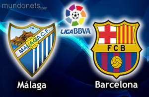Malaga CF vs FC Barcelona
